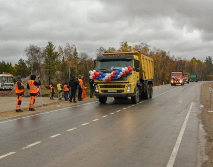 Раньше срока завершили капремонт более 20 км автотрассы «Вилюй» в Якутии