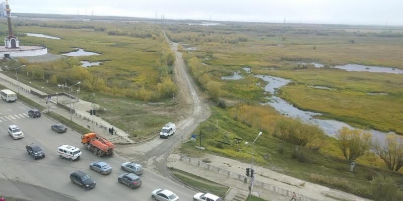 В Якутске нашли потерявшегося на Зеленом лугу ребенка