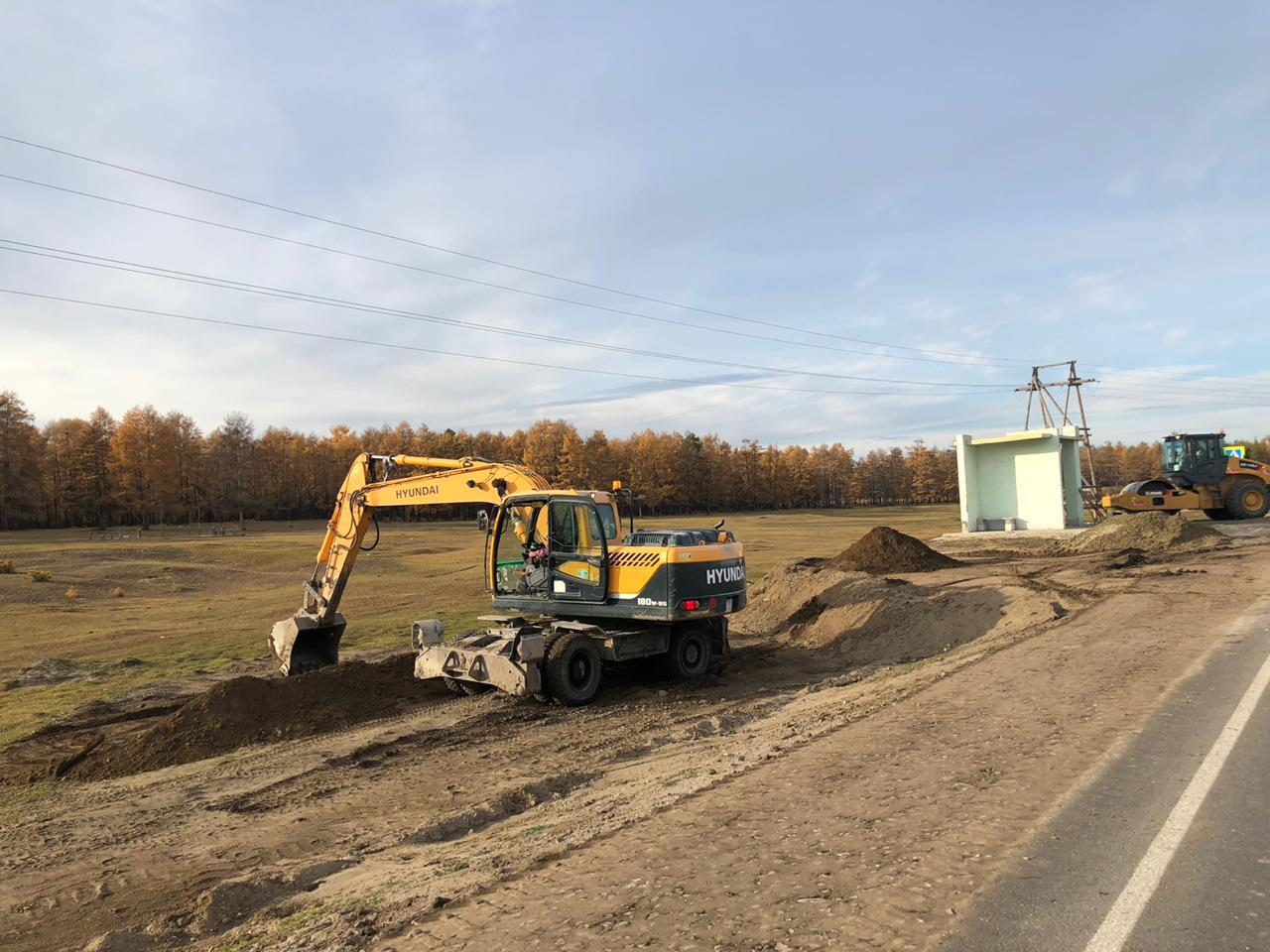 Дорожные работы на региональных дорогах Якутии идут без отставаний