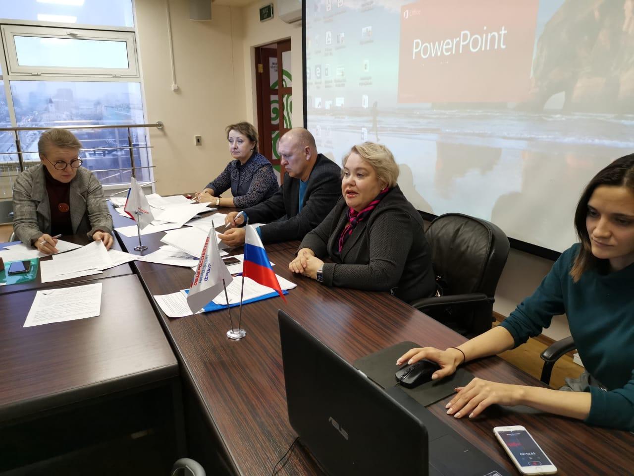 В целом оценка положительная. Активисты ОНФ обсудили ход реализации нацпроектов в Якутии