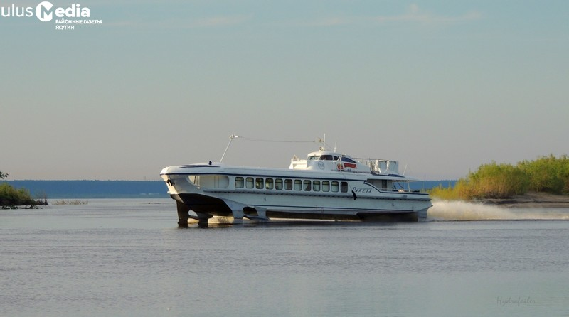 Речные перевозки в Олекминск продлены до 10 октября