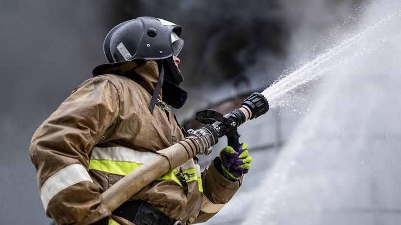 В одном из многоквартирных домов Якутска произошел пожар