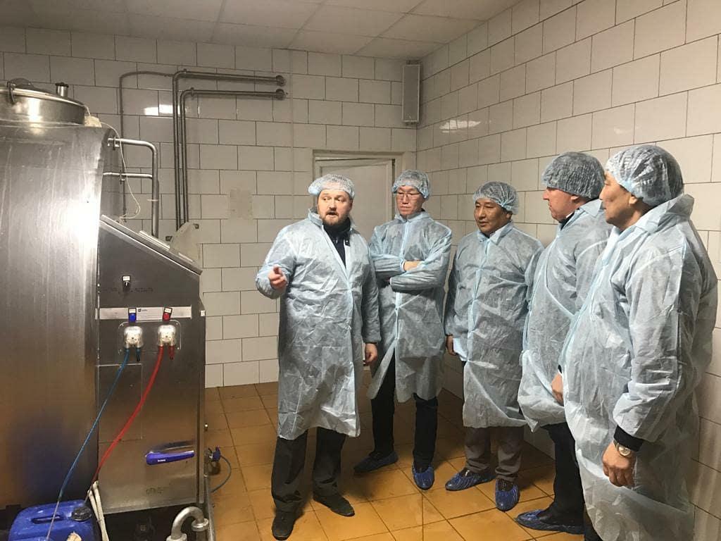 Делегация якутского правительства посетила базу производственной компании ООО «АгроТек» в Калуге