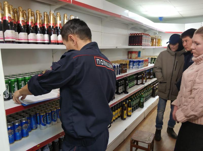 Оймяконские полицейские пресекли незаконную продажу алкоголя