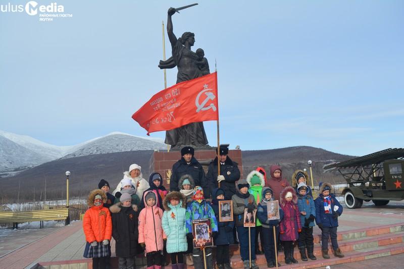 Знамя Победы побывало во всех селах Оймяконья