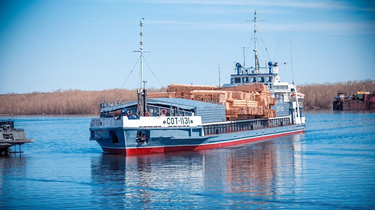 В районы Якутии с начала навигации доставили 98,7% жизнеобеспечивающих грузов