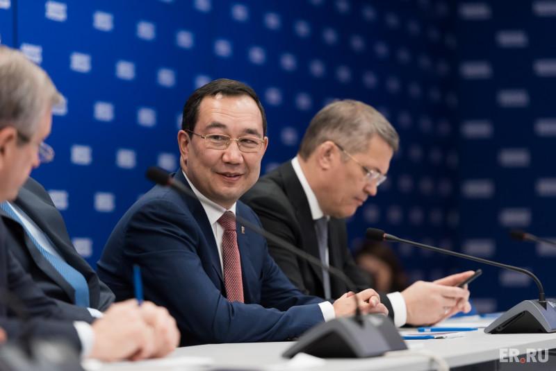 Кандидатуру главы Якутии согласовали вкачестве секретаря регионального отделения «Единой России»