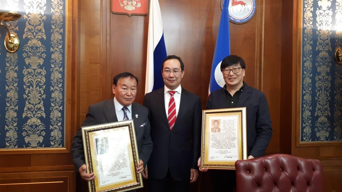 Глава Якутии поддержал планы исследователей по поиску наследия Асклипиодота Рязанского