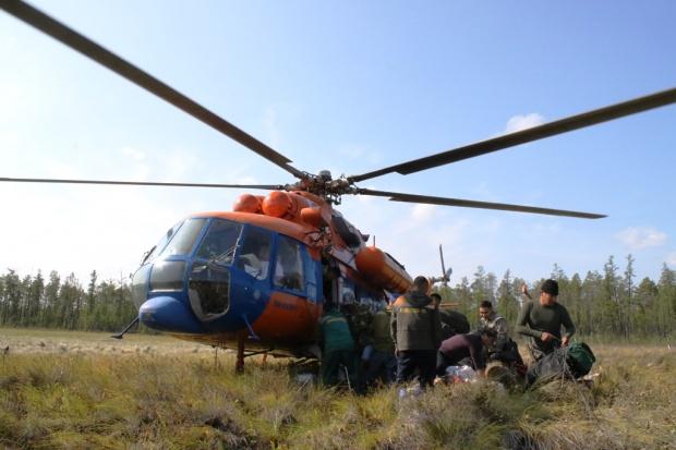 """""""Полярные авиалинии"""" поблагодарили за содействие в тушении лесных пожаров"""
