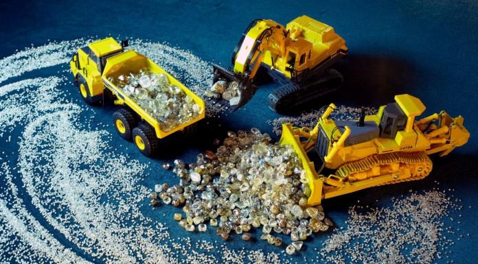 АЛРОСА добыла 30 миллионов карат алмазов за 9 месяцев