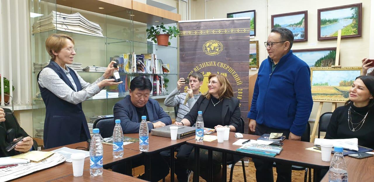 В Охе Сахалинской области состоялась встреча с членами экспедиции «Пути Великих свершений»