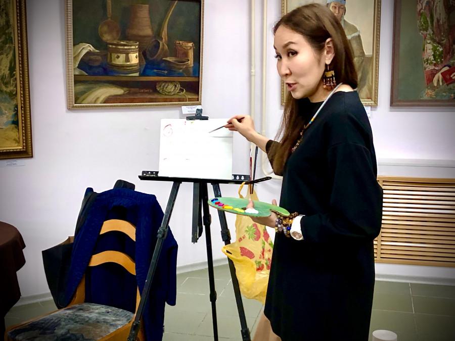 В Доме художника в рамках Muus uSTAR пройдет мастер-класс Миры Аргуновой