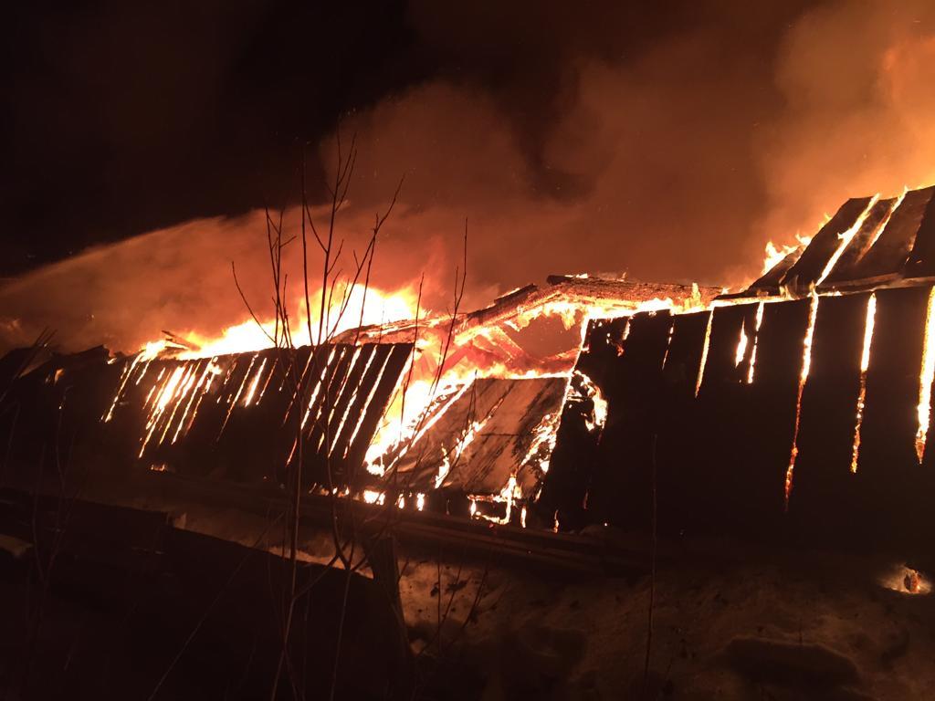 В Управлении ФСИН подтвердили факт возгорания гаража в Верхнем Бестяхе