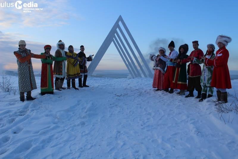Звездный туннель. В арктическом районе Якутии появился первый арт-объект