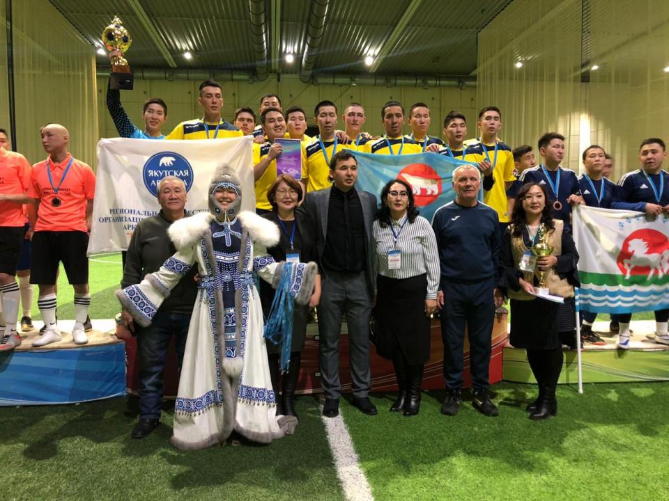 Команда Нижней Колымы - чемпион «Кубка Арктики» по мини-футболу