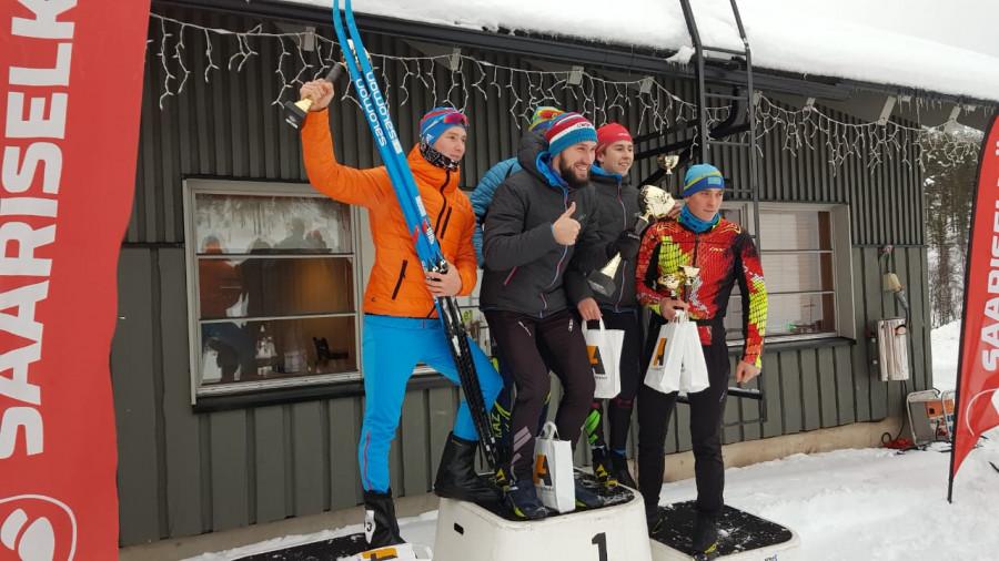 Якутский юниор Владимир Рыбкин занял второе место на международных соревнованиях по лыжным гонкам