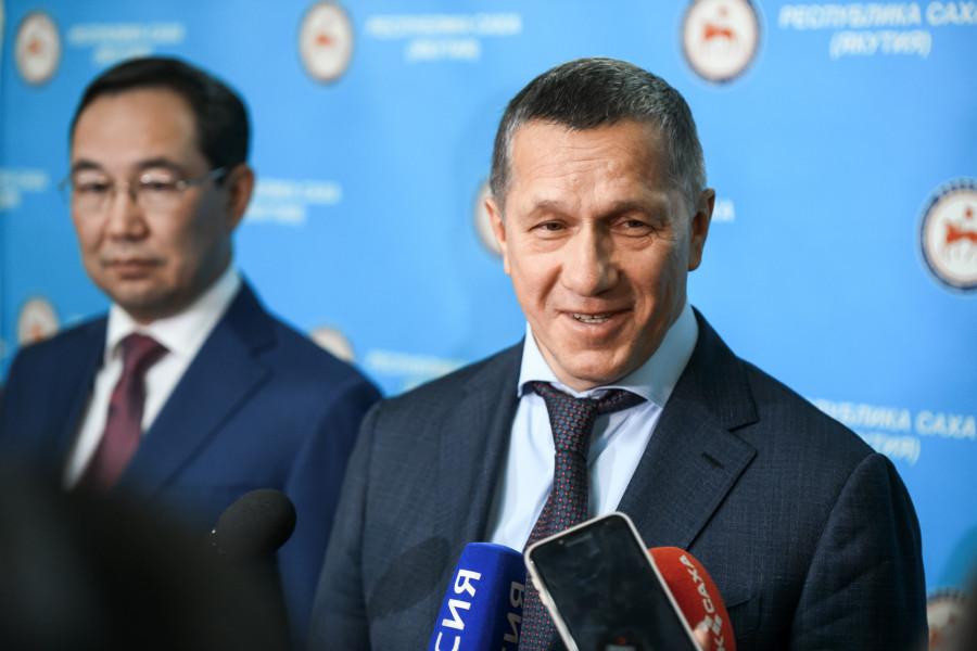 Юрий Трутнев: Якутия является одним из лучших регионов Дальнего Востока по привлечению инвесторов