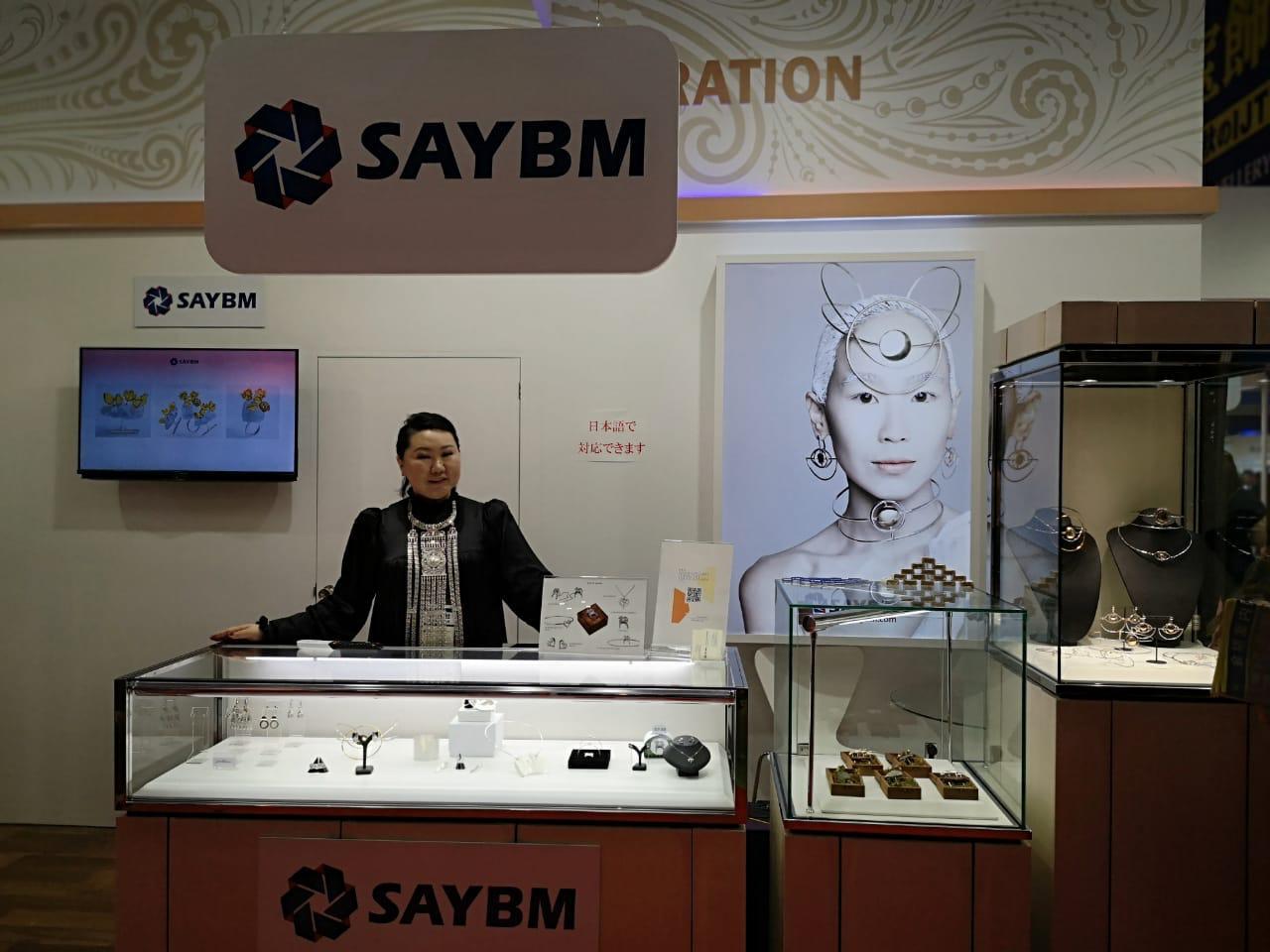 SAYBM принял участие в крупнейшей ювелирной выставке Азии