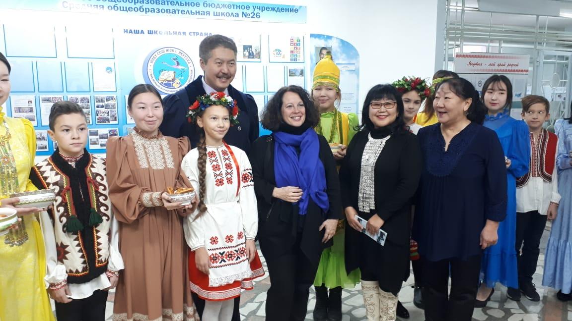 Якутск с официальным визитом посетила Посол Франции