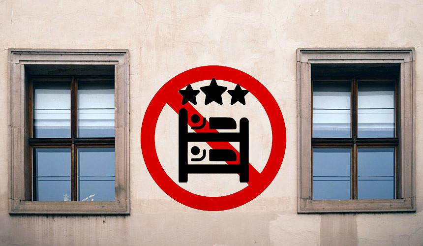 Кабмин запретил оказывать гостиничные услуги в жилых помещениях