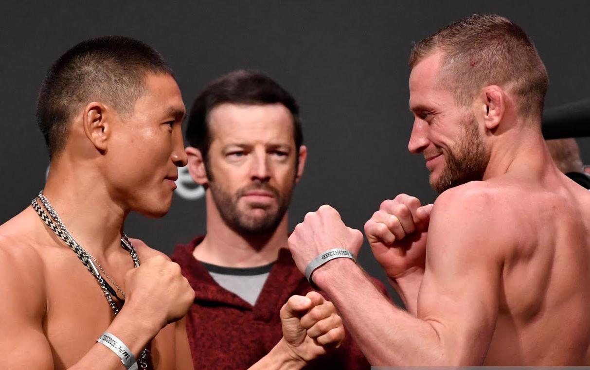 Григорий Попов уступил британцу Дэйви Гранту на UFC Fight Night 163