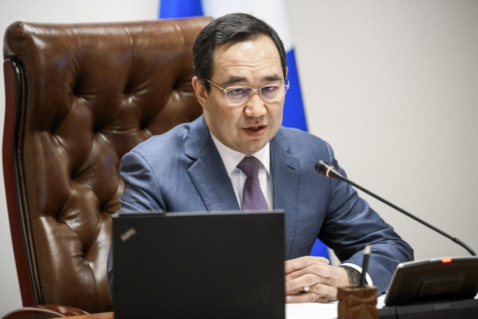 Айсен Николаев предложил актуализировать соглашение между Якутией и «Сургутнефтегазом»