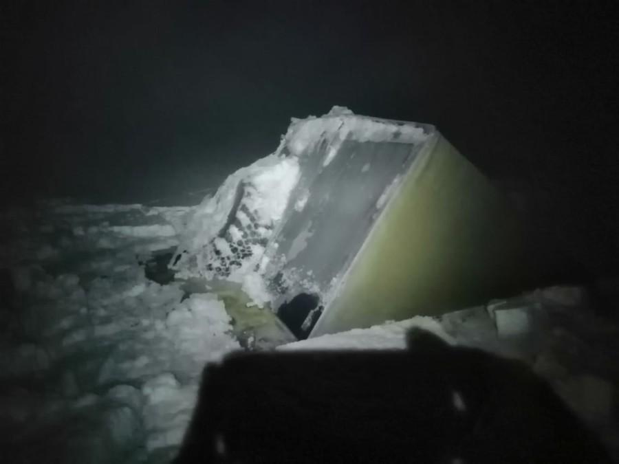 Водолазные работы на месте происшествия в Жиганском районе проходили при -55 градусах Цельсия