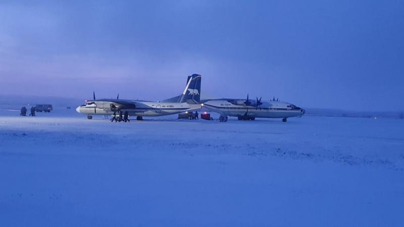 В Анабарский район Якутии из Красноярска прибыл грузовой самолет с товарами на борту