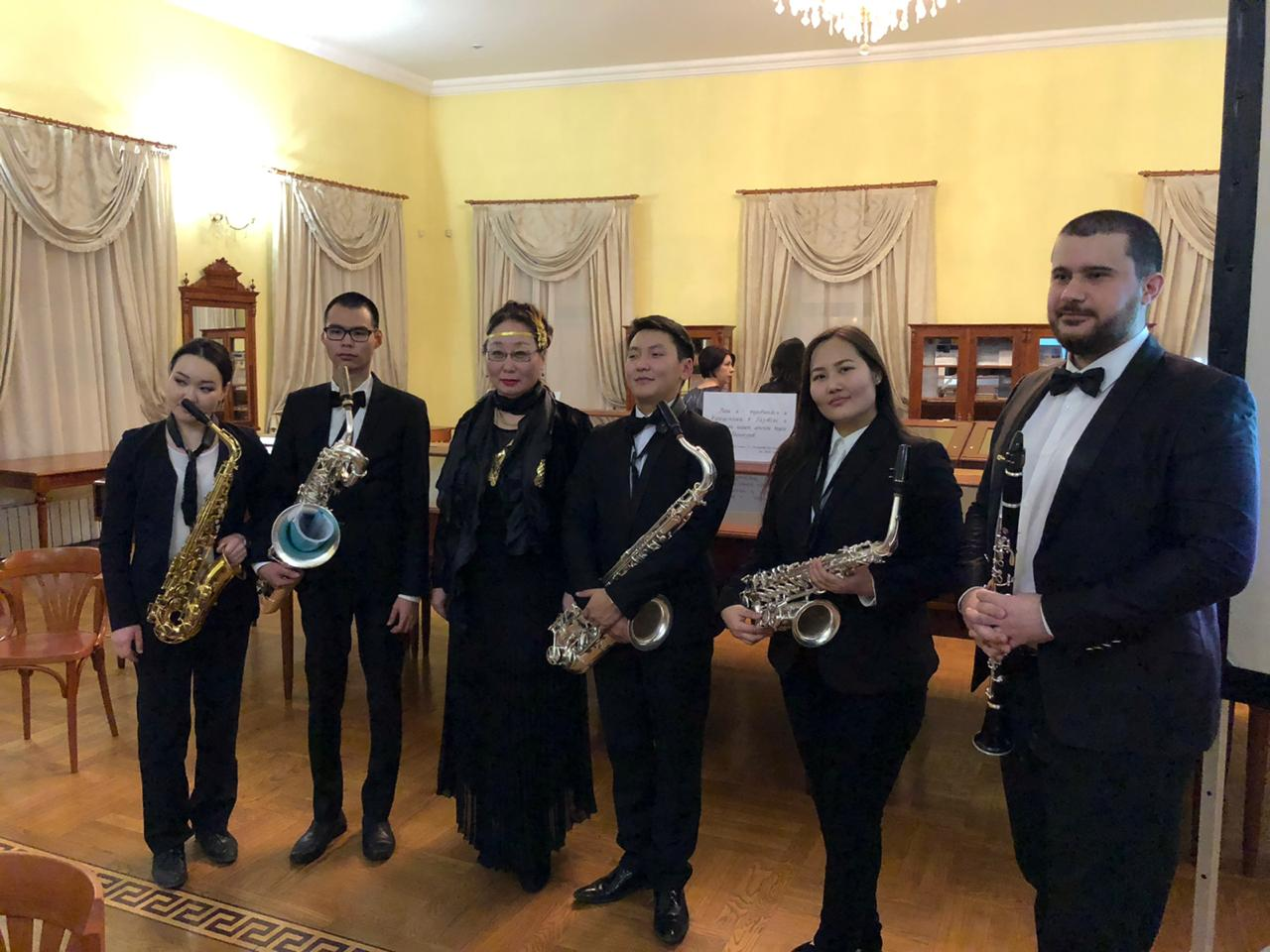 Квинтет саксофонистов дал дебютный концерт