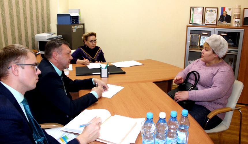 Галина Данчикова провела личный прием граждан в Нерюнгри