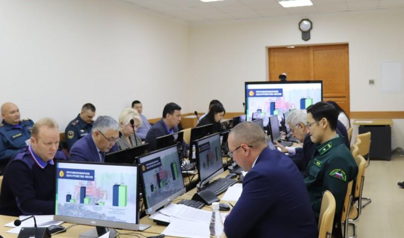 В Якутии подвели итоги и начали готовиться к следующему пожароопасному сезону