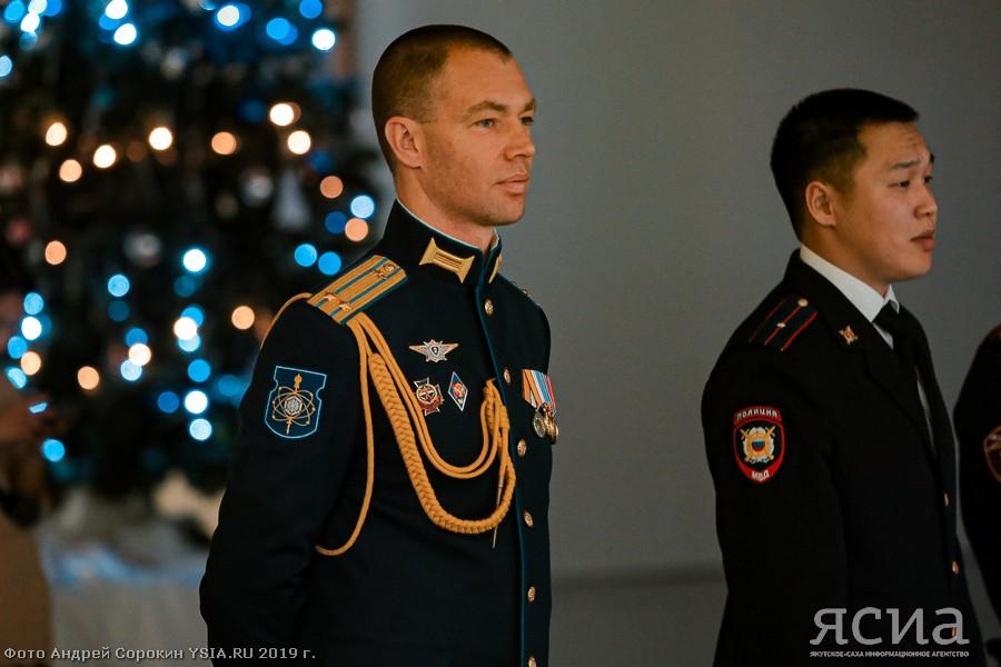 На Балу молодых офицеров в Якутске наградили почетным знаком «Сердце патриота»