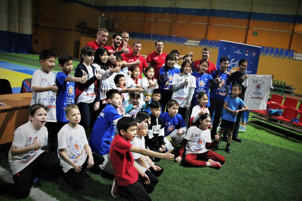 Фестиваль «Настроение». Сотни детей получили мастер-классы от спортсменов