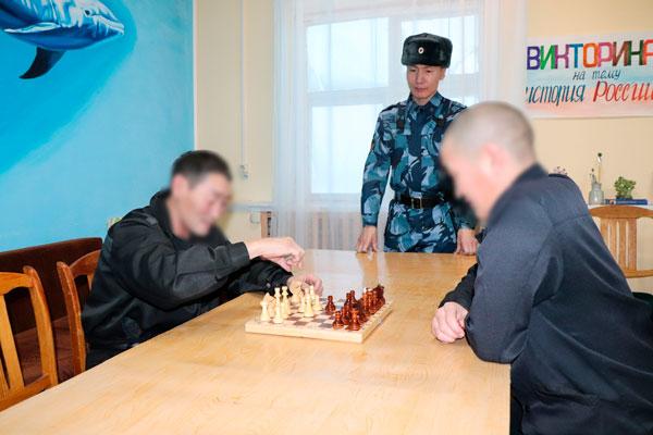 Осужденный из Якутии принял участие в финале Всероссийского чемпионата ФСИН России по шахматам