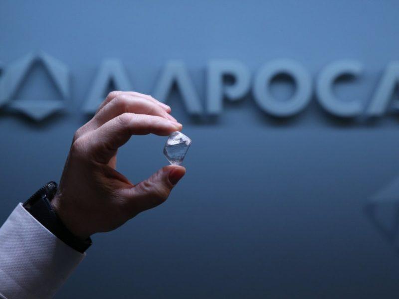 АЛРОСА в апреле продала бриллиантов и алмазов на $401 млн