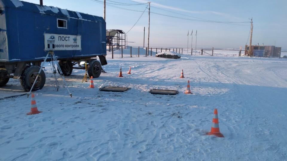 Хатассы - Павловск: Проезд разрешен для транспортных средств до 5 тонн
