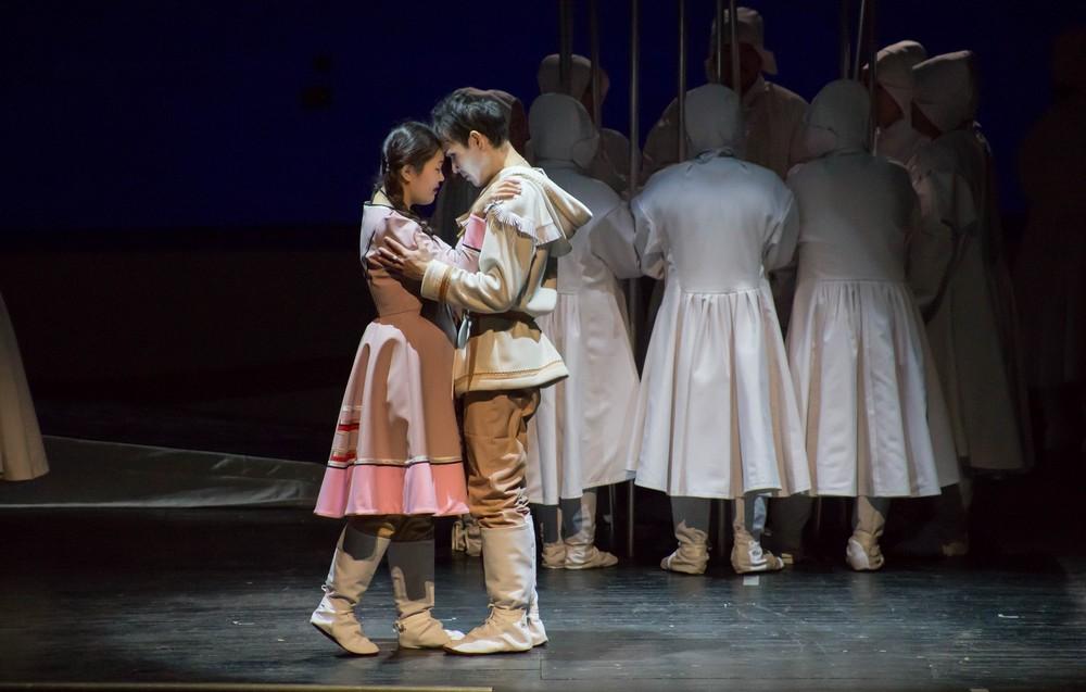Сегодня в Театре оперы и балета состоится премьера оперы о юкагирах «Юко и Анэкэ»