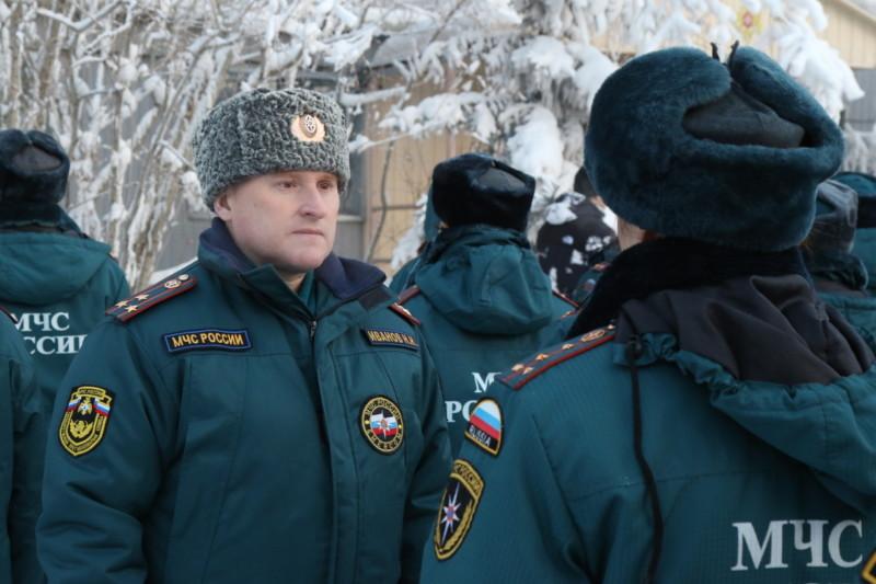В Якутии начались зимние учения подразделений МЧС