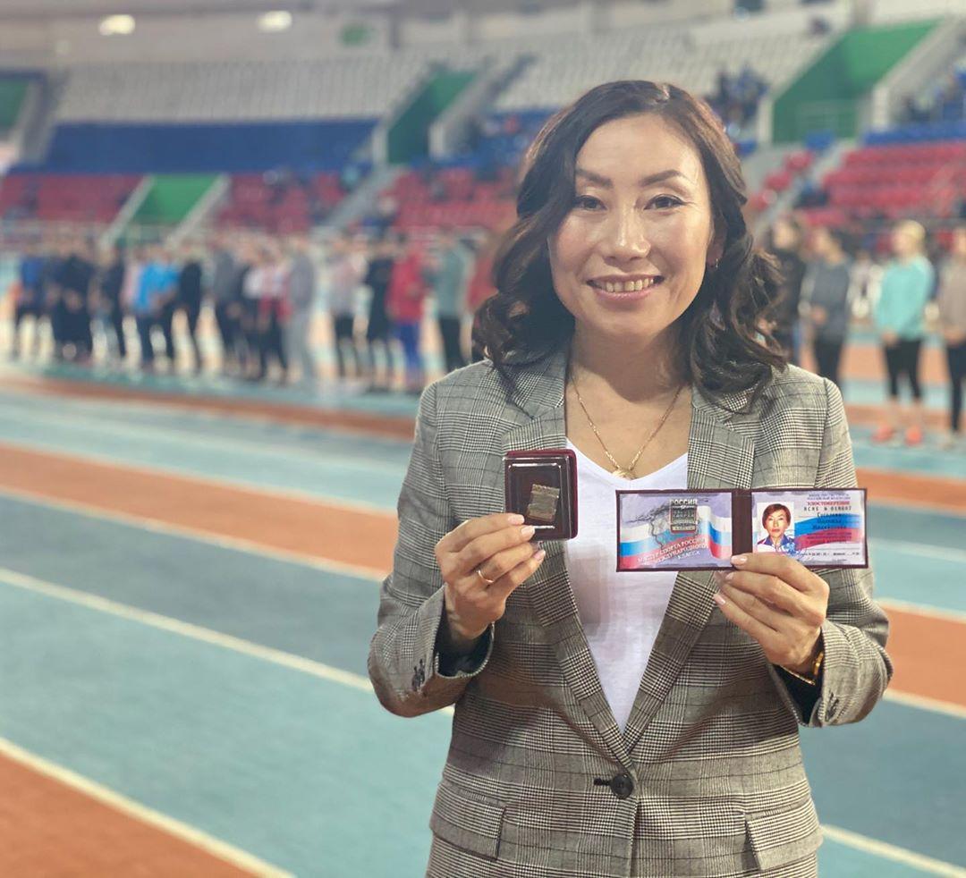 Бегунье Надежде Гоголевой присвоили звание мастера спорта международного класса