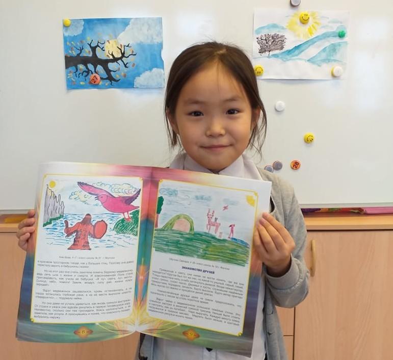 """Просвещение через экосказку. В Якутске презентуют книгу «Приключения розовой чайки и её друзей"""""""
