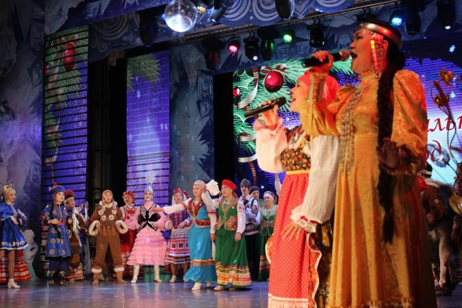 В Якутске отметили Интернациональный Новый год