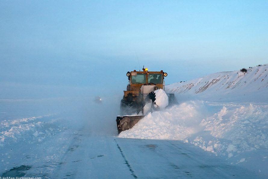 Открыт участок зимника между селами Андрюшкино и Колымское