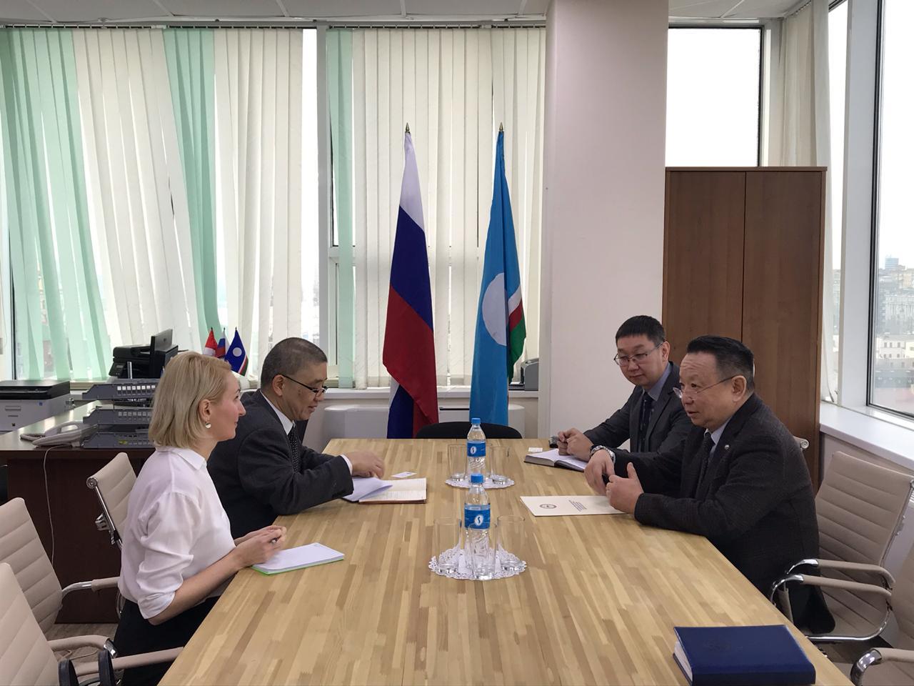 В постпредстве Якутии по ДФО обсудили предстоящий визит делегации «Marubeni Corporation» из Японии