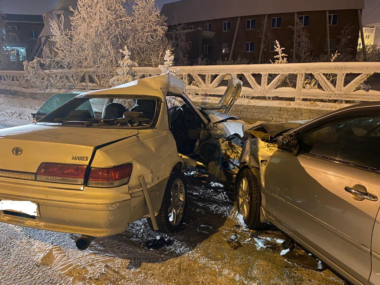 Один человек погиб, шестеро пострадали в ДТП в Якутске