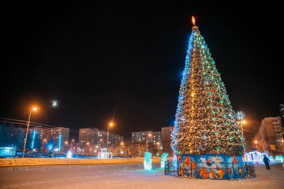 ФОТО: Самая лучшая елка Якутии