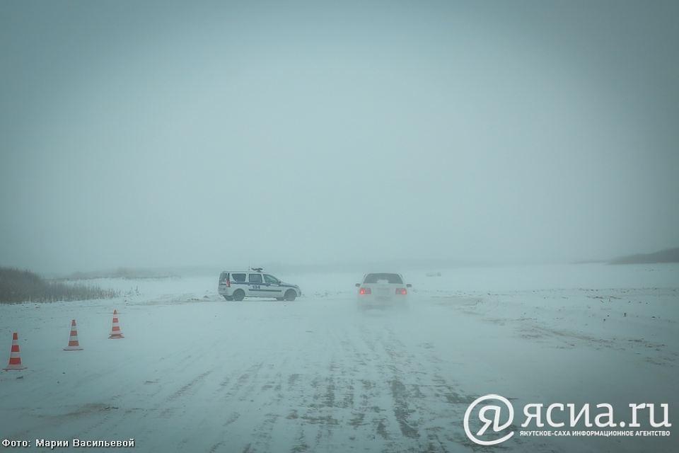 Увеличена грузоподъемность на ледовом автозимнике Якутск – Нижний Бестях