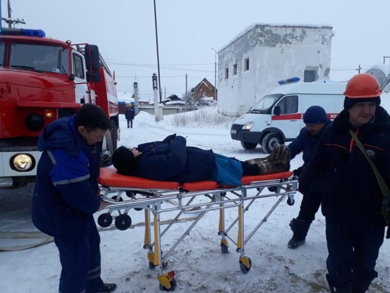 В  Покровске прошли тренировки в условиях техногенной аварии в котельной