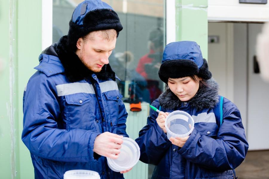 Студентка СВФУ Елизавета Данилова изучила свойства льда в школе Ice Mechanics