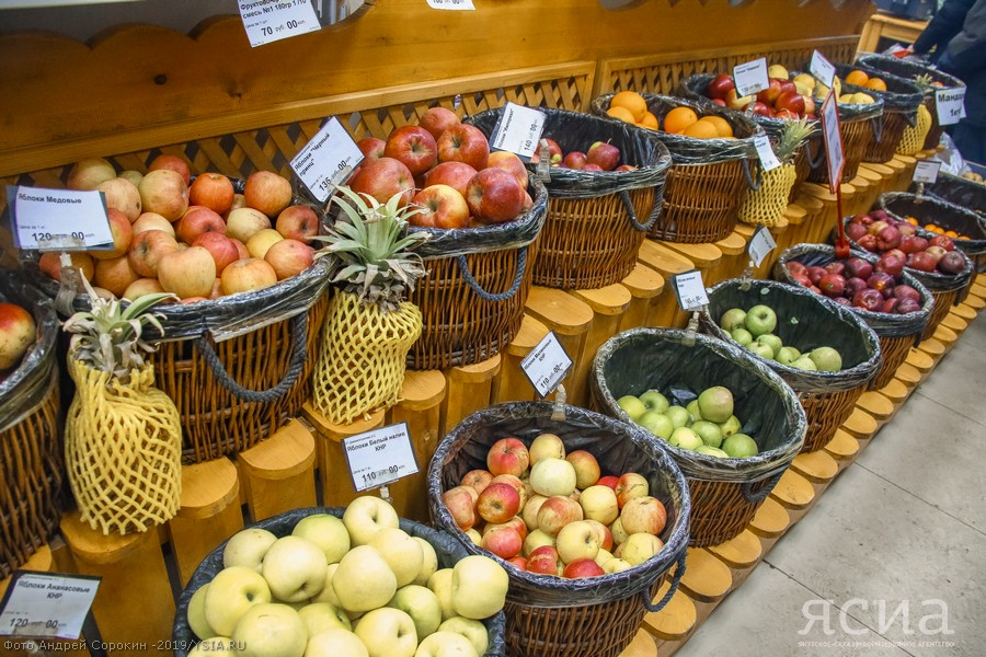 Поставщики увеличили завоз овощей и фруктов в Якутск из Узбекистана, Азербайджана и других стран
