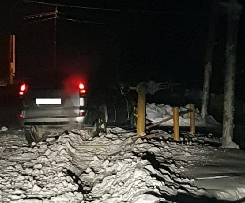 В Якутске работник автосервиса угнал автомобиль и угодил в ДТП